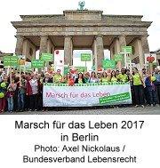 Marsch für das Leben 2017 in Berlin