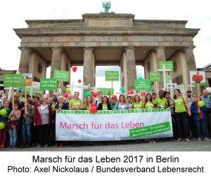 Marsch für das Leben 2017