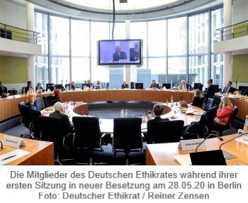 Deutscher Ethikrat Konstituierende Sitzung am 28.05.2020