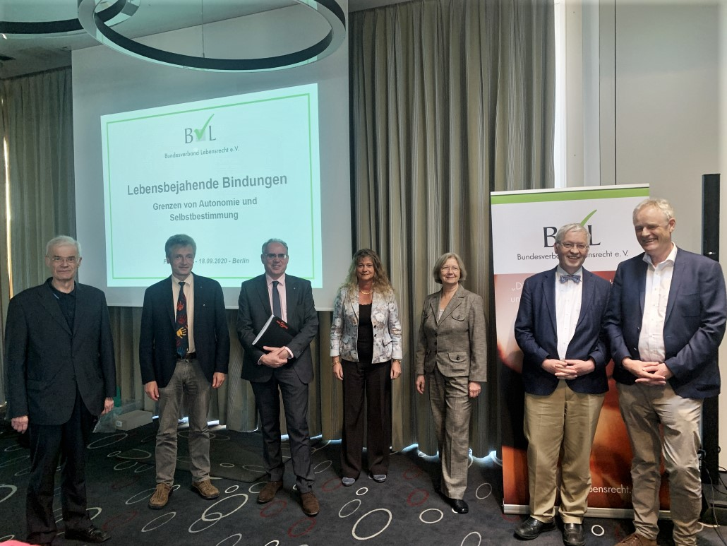 Fachtagungsreferenten und Vorstand Bundesverband Lebensrecht e.V.