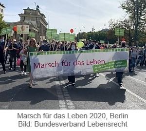Marsch für das Leben 2020 Berlin