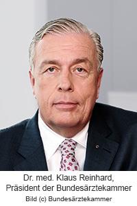 BÄK-Präsident Dr. med. Klaus Reinhardt