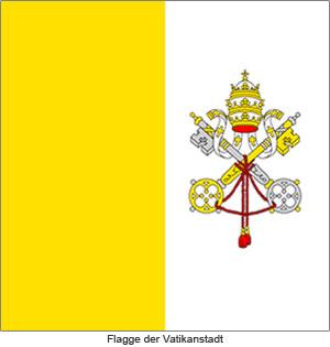 Flagge Vatikanstadt
