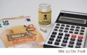 Illustration Sterbehilfe-Kostenersparnis