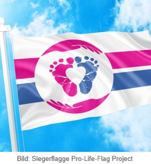 Flagge Pro Life