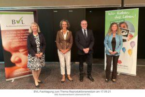 BVL-Tagung zum Thema Reproduktionsmedizin am 17.09.21 in Berlin
