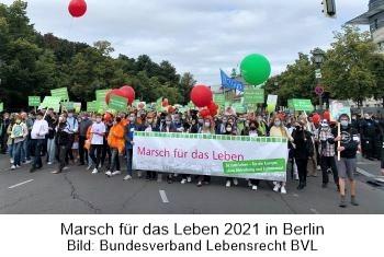 Marsch für das Leben am 18.09.21 in Berlin